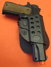 Paddle Plastic Holster for 1911 Style Pistol