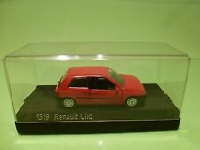SOLIDO 1519 RENAULT CLIO - RED 1:43 - EXCELLENT IN BOX