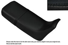BLACK STITCH CUSTOM FITS HONDA XRV 650 AFRICA TWIN RD03 DUAL SEAT COVER