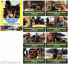 CONTRATTO CARNALE SET FOTOBUSTA COMPLETO 8+SOGG BONTEMPI 1973 CONTACT LOBBY CARD
