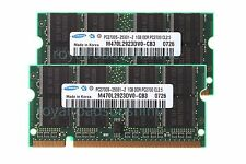 Samsung NEW 2X 1GB Kits PC2700S DDR 333mhz 200Pin SODIMM Laptop RAM Memory