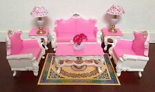 Gloria Barbie Sized Deluxe Living Room Furniture & Accessories Playset (2317)XTS