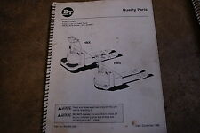 BT Prime Mover RMX HMX ELECTRIC LOW LIFT PALLET TRUCK Parts Manual catalog book