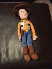 "Sheriff Woody Toy Story 2 3 Stuffed Soft Plush Rag Doll Toy 16"" Disney Store"