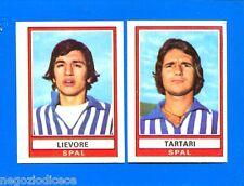 CALCIATORI 1973-74 Panini - Figurina-Sticker n. 528 -LIEVORE-TARTARI SPAL-Rec