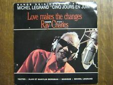 RAY CHARLES 45 TOURS FRANCE MICHEL LEGRAND