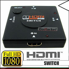3 Port HDMI Switch Switcher Changer for HDTV 1080P SKU#569