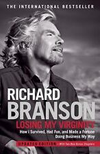 Losing My Virginity Richard Branson Updated Edition Two New Chapters Book