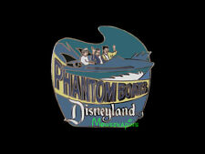 Disneyland Tomorrowland PHANTOM BOATS Ride Disney 1998 Pin