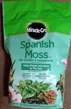 Miracle Gro Spanish Moss For Orchids And Houseplants 4 Qt, FREE SHIPPING!