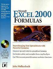 Excel 2000 Formulas