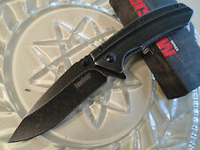 Kershaw Filter Black Wash Assisted Open Tactical Pocket Knife 8Cr13MoV 1306BW