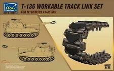 Riich Models RE30002 1/35 T-136 Workable Track Link Set For M108/M109A1-A5 SPH