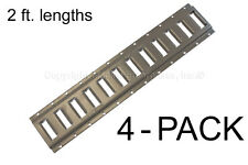 E Track - 2 ft Horizontal / Trailer Tiedown - 4 Pieces - ON SALE $8.00 Discount