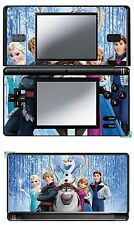 DISNEY FROZEN VINYL SKIN STICKER FOR NINTENDO DS LITE REF 20 FROZEN