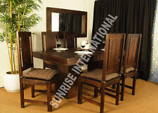 Tuscany Range - Wooden Wood Dining table with 6 Chair set (7 pc set) !!