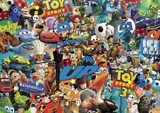 PIXAR CARTOON Stickerbomb foglio - (x1-a3 dimensioni) gratis P&P! (TOY STORY / Kids colore)