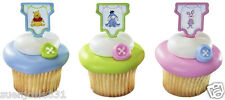 Disney Winnie the Pooh Babyshower Cupcake Picks 24ct Cake Decorations Toppers
