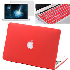 Keyboard Cover+Screen Protector+Hard Shell Case for Laptop Macbook Mac Book Skin