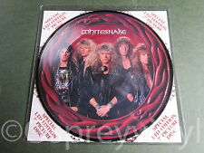 "Whitesnake Deeper the Love Unplayed 7"" Picture Disc Mint Deep Purple"