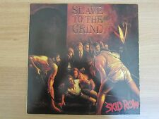 SKID ROW - Slave To The Grind Korea 11 Tracks Vinyl LP 1991 INSERT