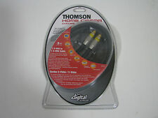 Thomson-KHC016 Cable 24K-Gold (S-VIDEO) 1 S-VHS to 1 S-VHS (3,0m/10FT) NEW