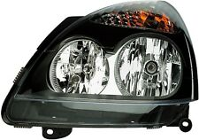 HELLA GENUINE OEM 1LB008461-551 LEFT HEADLIGHT CLIO 2 01- 04 (BLACK)