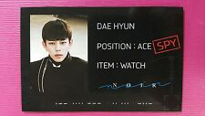 BAP B.A.P DAEHYUN Official Photocard NAME CARD Ver NOIR 2nd Album DAE HYUN 대현