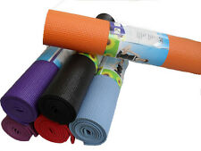 GB YOGA MAT ASSORTED COLOR 4 MM