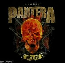 PANTERA cd lgo OUTLAW SKULL Official SHIRT MED New southern soldiers