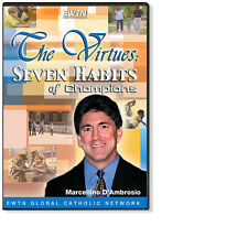 THE VIRTUES: SEVEN HABITS OF CHAMPIONS AN EWTN 3-DISC DVD