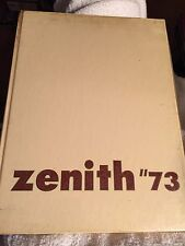 High Point College North Carolina 1973 Zenith Yearbook Annual University NC