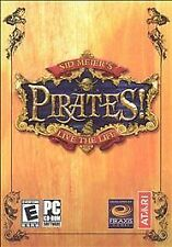 Sid Meier's Pirates: Live the Life (PC, 2004) 2 DISC SET ONLY,NO MANUAL
