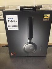 Philips Fidelio F1 Hi-Res Lightweight Audio Headphones With Mic