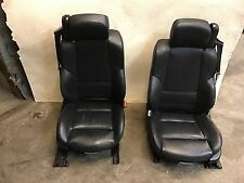 BMW E46 M3 325ci 330ci CONVERTIBLE FRONT HEATED SEAT SEATS OEM BLACK