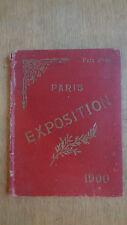 Exposition universelle de 1900 - Paris - Livre photo RARE