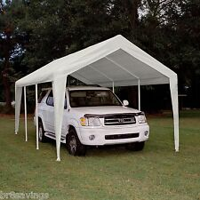 Season Legendary Hercules Replacement Cover Canopy White 10' x 20'