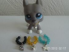 accessories for littlest pet shop 3 necklaces and pendants lps dog not included
