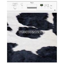 Magnet lave vaisselle déco  peau de vache 60x60cm réf 061 061