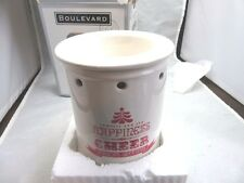 NEW Xmas Electric Boulevard wax tart warmer oil diffuser. Red & white