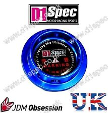 D1 SPEC FORGED OIL FILLER CAP C BLUE FOR LEXUS ALTEZZA IS200 IS250 CT200 JDM