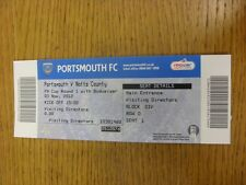03/11/2012 Ticket: Portsmouth v Notts County [FA Cup] . Thanks for viewing this