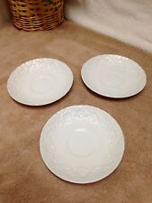 """Ralph Lauren Claire Wedgewood 5 3/4"""" Saucer Only Lot of 3 EXC"""