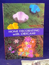 ORIGAMI Home Decorating Tomoko Fuse NEW 1st Edition Paper Art Craft Book