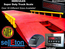 NEW Super Duty Truck Scale 85,000 lb cap. (NTEP / Legal for trade) 10' x 12'