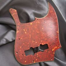 Real Celluloid 72 JB pickguard-aged-Tortoise-FITS to Jazz Bass ®