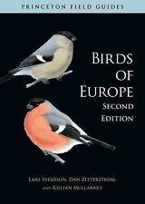 Princeton Field Guides: Birds of Europe by Lars Svensson (2010, Paperback,...