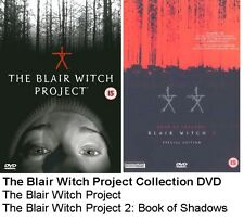THE BLAIR WITCH PROJECT MOVIE COLLECTION DVD DOUBLE PACK Part 1 2 New Sealed UK