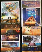 13 NEW SUPERBOOK! All NEW Season 1 DVDs CBN, Children, Faith, Family