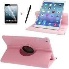 Hülle f Apple iPad Air 5 360° Schutzhülle Case  Tasche  Leder-Imitat rosa pink